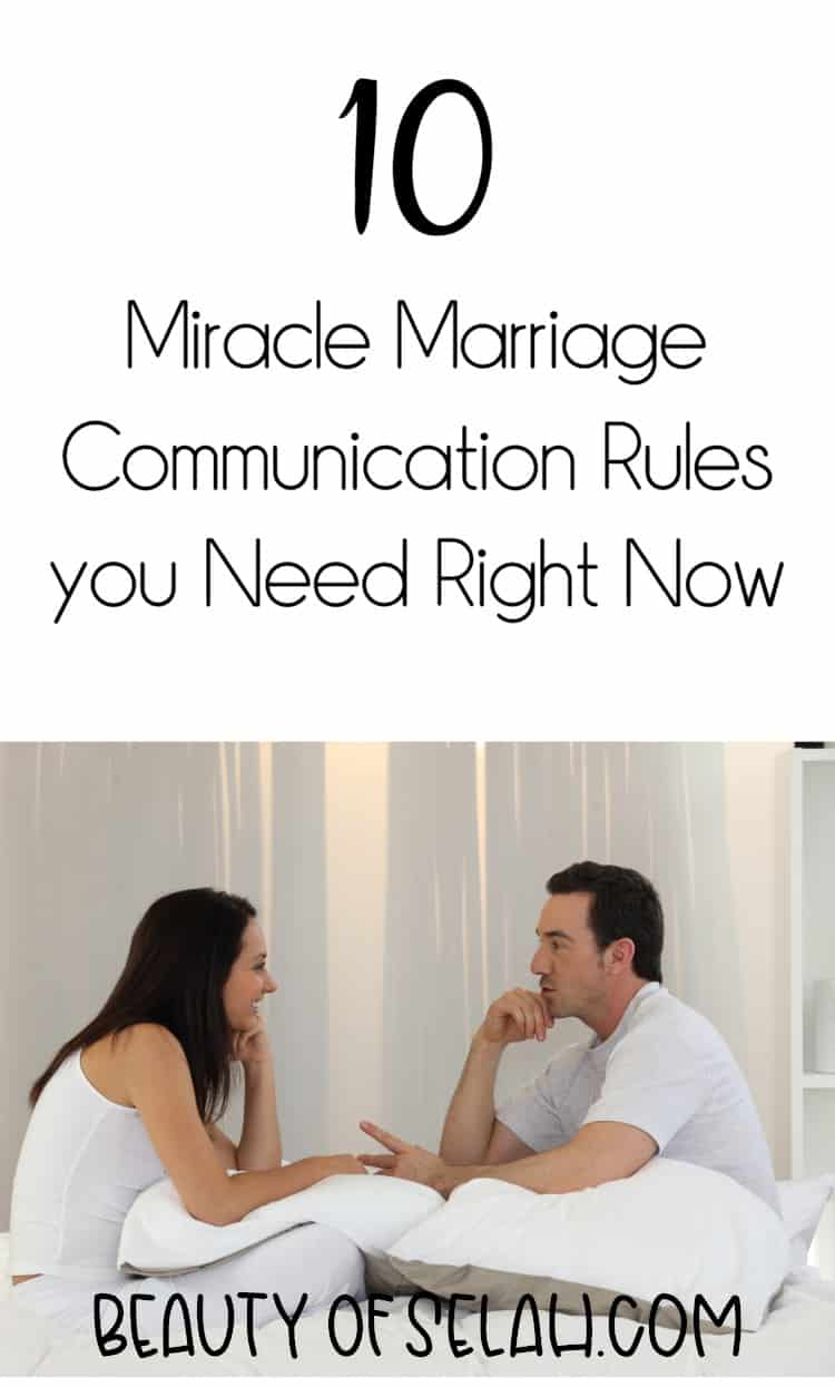 10 Miracle communication Rules you need right now