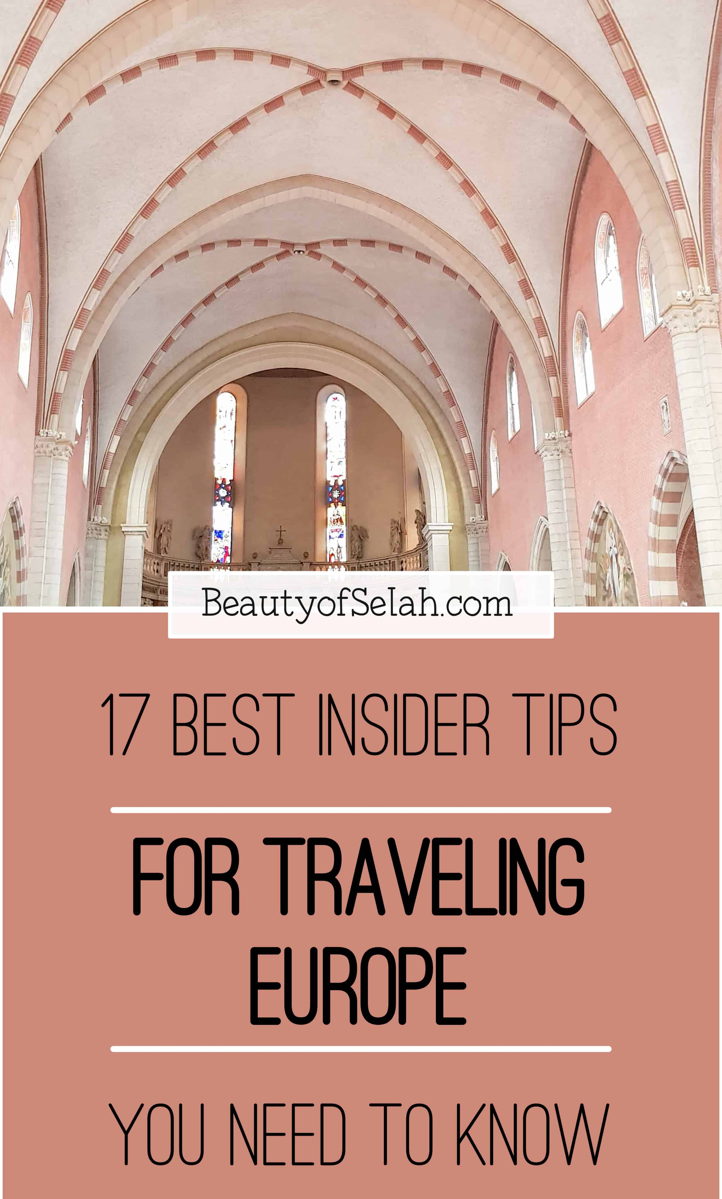 17 best insider tips for traveling europe you need