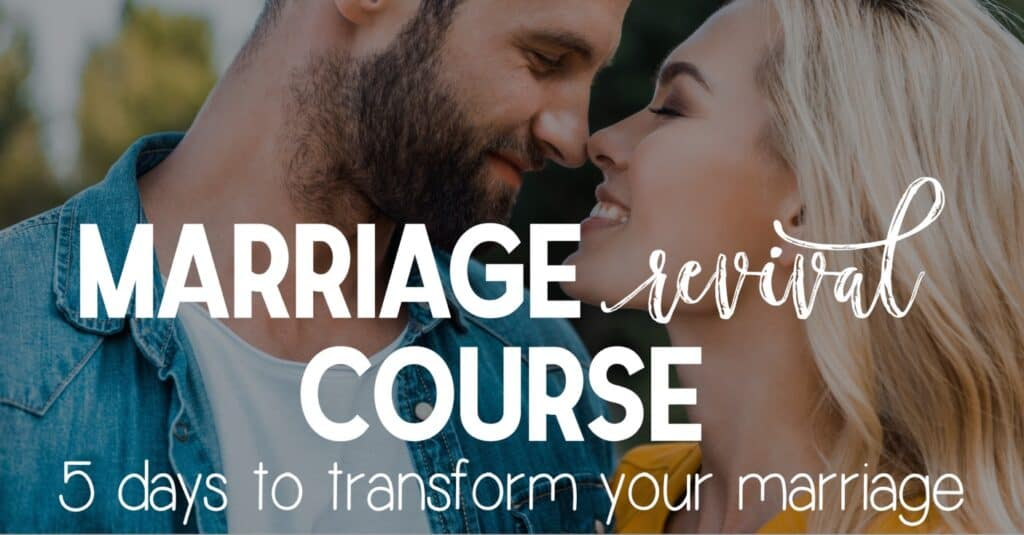 5 day marriage revival course