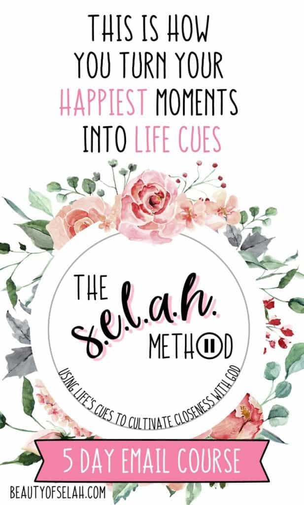 Can you use joy to grow closer to God? Of course you can! Let me teach you how with the Selah Method! #christian #theselahmethod #biblestudy
