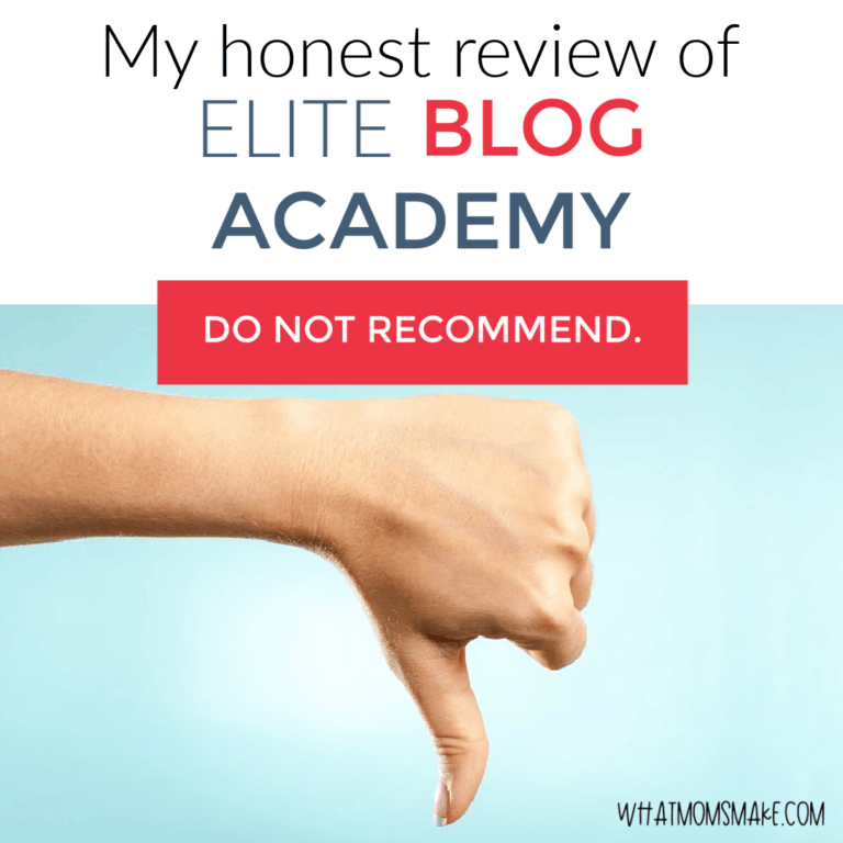 My honest review of Elite Blog Academy