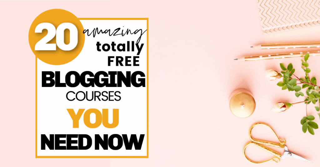 Free Blogging Courses