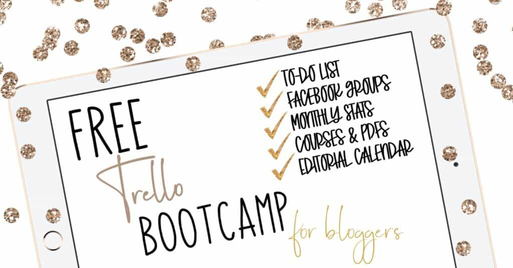 Free Trello Bootcamp for Bloggers