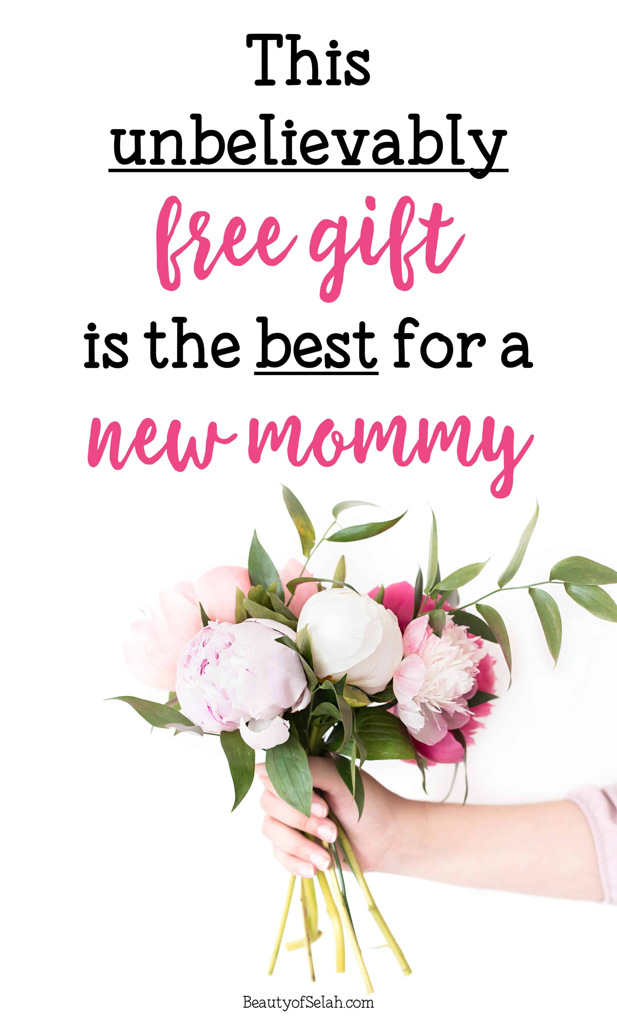 This unbelievable free gift is the best for a new mommy