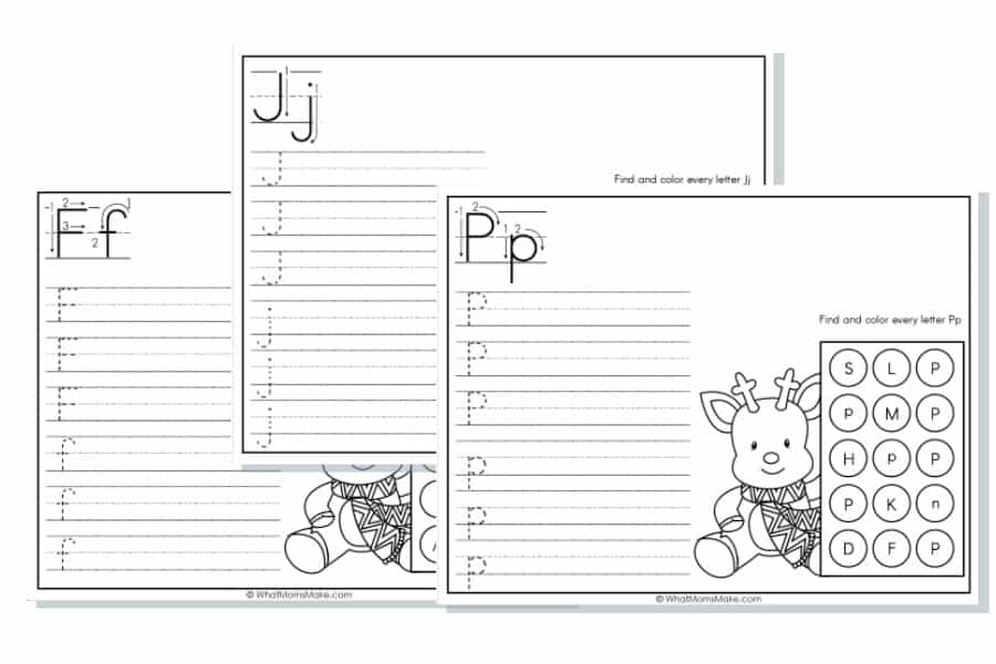 Christmas Graphic worksheets