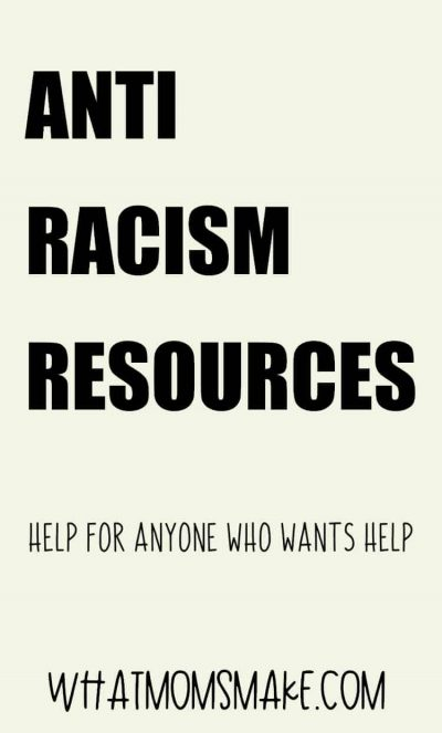 anti racism resources pin