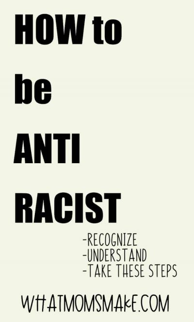 how to be anti racist pin