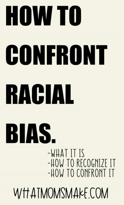 how to confront racial bias pin