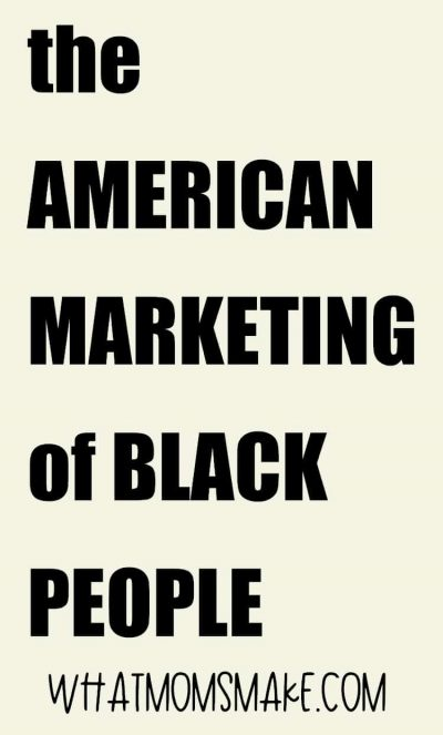 the american marketing of black people pin